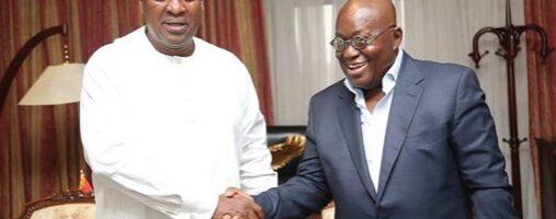Akufo-Addo, Mahama commit to peace